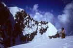 Wengen-Jungfrau 4089 m vom Rottalhorn 3696 m