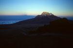 Mawenzi  5148 m bei Sonnenuntergang