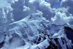 Aletschhorn 4195 m vom Rottalhorn 3969 m - Tele -