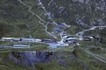 Tiefblick auf Kl. Scheidegg 2061 m; Höhenunterschied 1910 m ! - Tele -