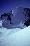 Lenzwand mit Lenzspitze 4294 m vom Windjoch