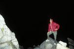 Am Gipfel um 5.00 Uhr in der Frühe
