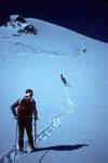 Aufstieg zur Ludwigshöhe 4341 m