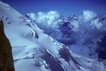 Dom 4545 m Nordflanke Festigrat
