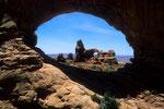Durchblick zum Turret Arch