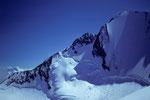 ENE-Grat mit Lenzwand und -spitze 4294 m
