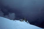 Abstieg zur Capanna Gnifetti  3647 m