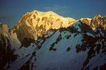 Mont Blanc vom Pointe Helbronner