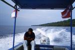 Mit dem Schnellboot zu Traum-Tauchplätzen.