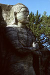 Polonnaruwa  - Ananda 7 m hoch -