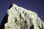 Gipfel Cholatse 6440 m - Tele -  vom Gokyo Ri 5357 m
