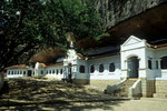 Aussenansicht Höhlentempel Dambulla