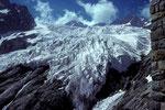 Glacier Blanc von der Refuge Glacier Blanc  2550 m,