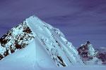 Blick auf Liskamm 4527m und Matterhorn 4478 m - Tele -