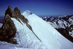 Pic Lory 4086 m und Dome de Neige 4015 m