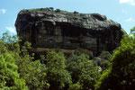 Sigiriya - die Zitadelle -
