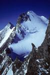Täschhorn 4491 m und Dom 4545 m mit Südgrat zur Lenzspitze