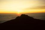 Mawenzi  5148 m bei Sonnenaufgang   vom Gilman´s Point  5681 m