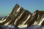 Finsteraarhorn 4274 m höchster Gipfel der Berner Alpen  - Tele -