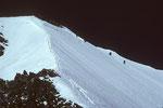 Lenzspitze Gipfelbereich