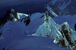 Aig. du Midi 3842m Und Mont Maudit 4465 m - Tele -