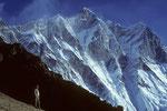 Lhotse 8516 m Südwand - Tele -