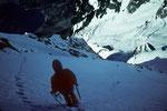 Abstieg zum Rifugio Boccalatte e Mario Piolti 2803 m