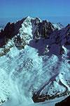 Aiguille Verte 4121m von der Pointe Whymper  4184m