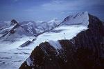 Aletschhorn 4193m mit Mönch 4107 m