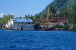 Im Inselparadies als Wrack ohne Zukunft.