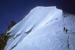 Biancograt-Endstück zum Piz Bianco  3995 m