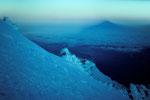 Eisformationen und Montblanc-Schatten  I