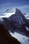 Mönch 4107 m vom Eiger Gipfel