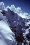 Gletscherhorn 3983 m mit 1200m hoher Nordwand