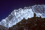 Chukhung Ri 5546 m dahinter Nuptse 7879 m Südwand