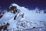 Breithorn West  4165m vom Chli Matterhorn  3883m