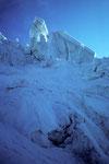 Im Gletscherbruch mit Seracs