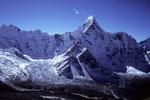 Ama Dablam 6856 m  vom Chukung Ri 5545 m