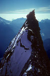 Grosser Gendarm 4091 m im Rückblick