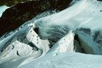 Überwundener Gletscherbruch