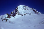 Sphinx 3573 m und Mönch 4107 m