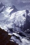 Oberer Grindelwaldgletscher vom Wettersattel
