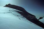 Anstieg zur Capanna Regina Margherita 4554 m