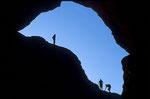 Kletterer im Doppelten Bogen
