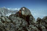 Vorgipfel Surya Peak 5144 m