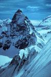 Verbindungsgrat zum Matterhorn.