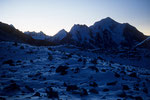 Ganchempo  6387 m im Morgenlicht