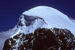 Breithorn West  4165m vom Chli Matterhorn  3883m - Tele -