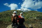 Kinder am Startpunkt zum Ararat-Trekking  5165 m