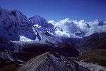 Thamserku 6608 m vom Chukung Ri 5546 m